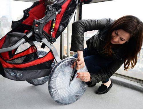cara membersihkan stroller dan kereta dorong bayi