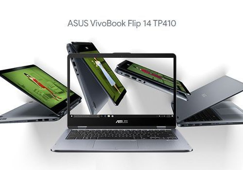 Laptop ASUS 2-in-1 convertible VivoBook TP410
