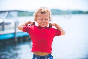 Melatih kebiasaan hidup sehat pada anak