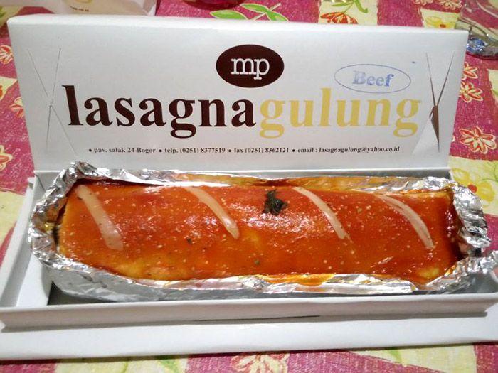 Jangan lupa mampir dan cobain lasagna gulung kalau kamu ke Bogor!
