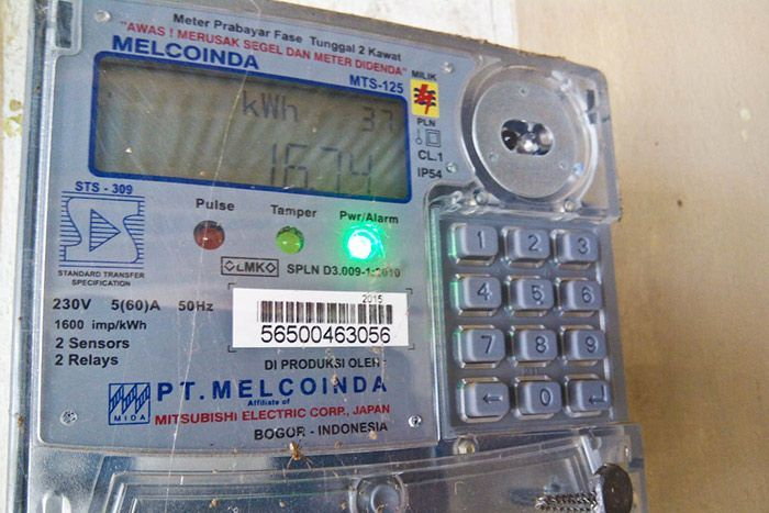 Cara mematikan bunyi token listrik prabayar Pintar