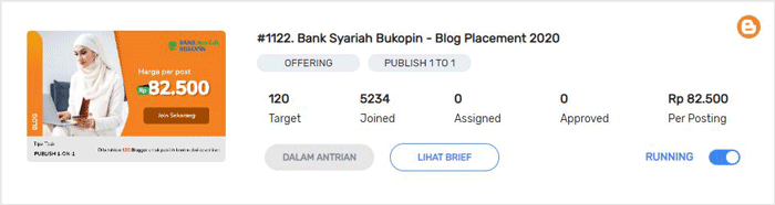 cari blog review dan job content placement di sosiago.id