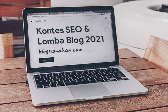 kontes seo dan lomba blog 2021