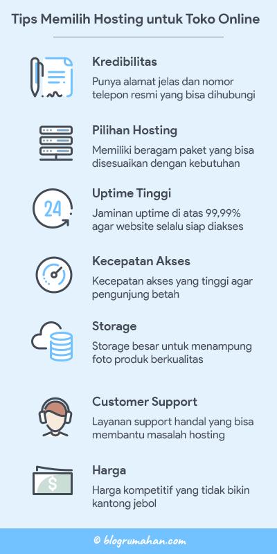 tips memilih hosting untuk toko online