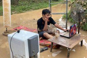 dampak banjir terhadap blogger dan kegiatan ngeblog