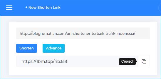 cara membuat link pendek di safelink.id