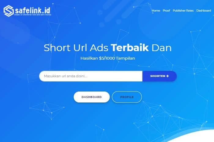 review short url ads terbaik safelink.id
