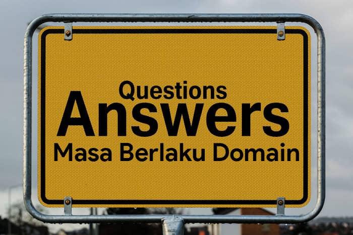pertanyaan seputar masa berlaku nama domain dan masa aktifnya